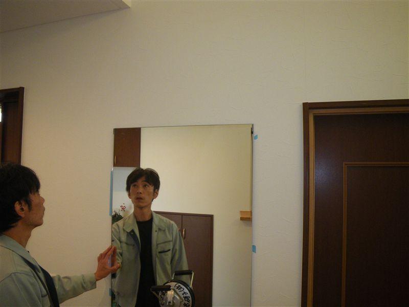 鏡取り付け12番