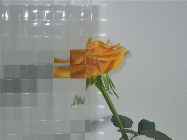 5mmワッフルガラス