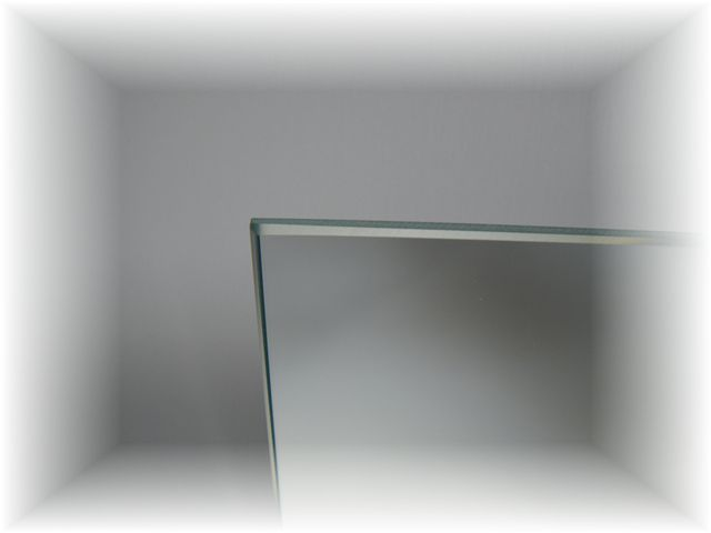 鏡・ミラー小口磨き加工