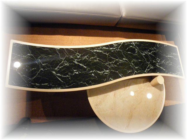 ジャモンガラス天板